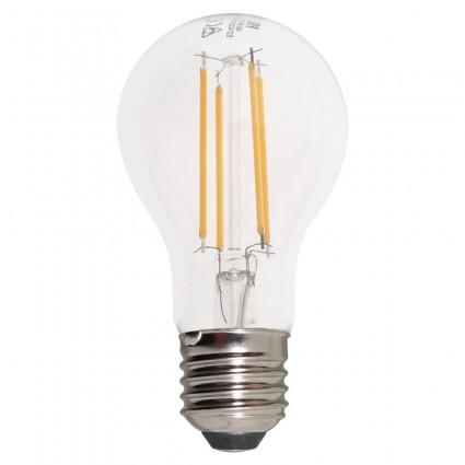 Bec Led Filament E27 8W Alb Cald Dimabil