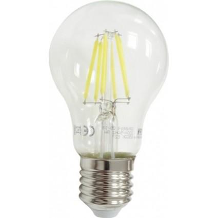 Bec Led Filament E27 8W A60 Alb Cald