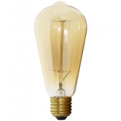Bec Vintage E27 35W Glob St64 Alb Cald