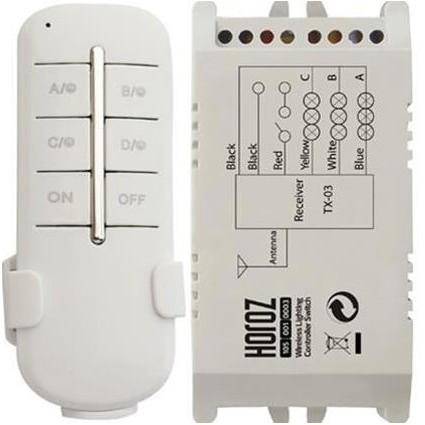 Intrerupator Cu Telecomanda 3 X 1000W 30-60 Metri