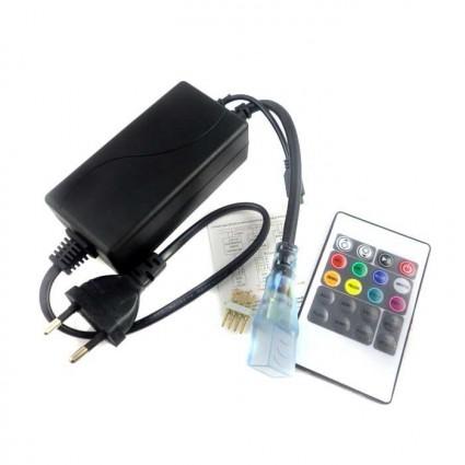 CONTROLLER CU TELECOMANDA BANDA LED 220V RGB