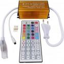 CONTROLLER BANDA LED RGB 220V IP54 CU TELECOMANDA